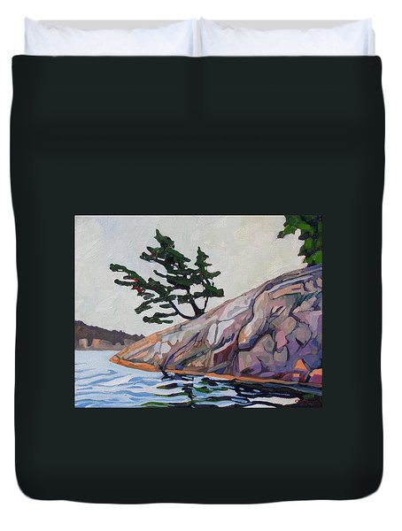 Out Of The Rock Duvet Cover