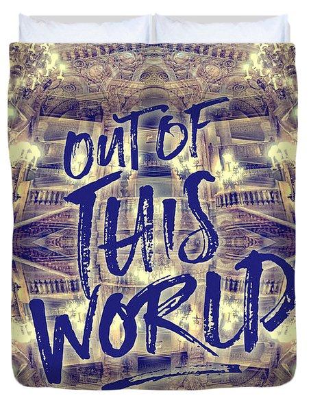 Out Of This World Opera Garnier Paris France Duvet Cover