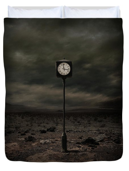 Out Of Time Duvet Cover