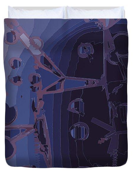 Touch Away Duvet Cover by Moustafa Al Hatter