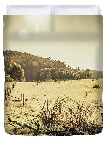 Outback Bound Duvet Cover