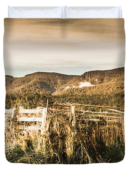 Outback Obsolescence  Duvet Cover