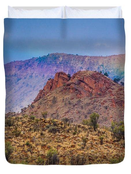 Outback Rainbow Duvet Cover