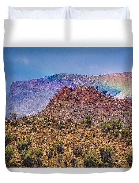 Outback Rainbow Duvet Cover