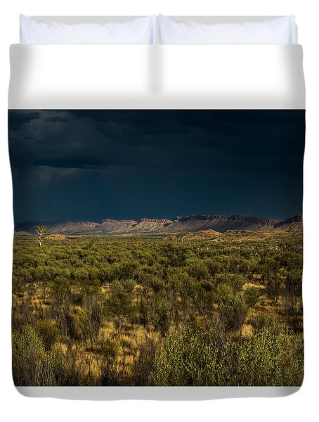 Outback Storm Duvet Cover