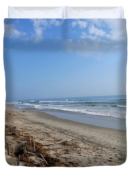 Outer Banks Morning Duvet Cover