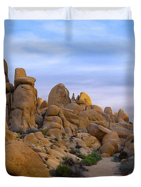 Outer Limits Pano View Duvet Cover