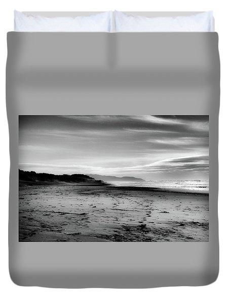 Outer Sunset Ocean Beach San Francisco Duvet Cover by Kandy Hurley