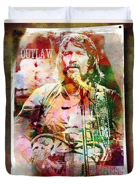 Outlaw Duvet Cover