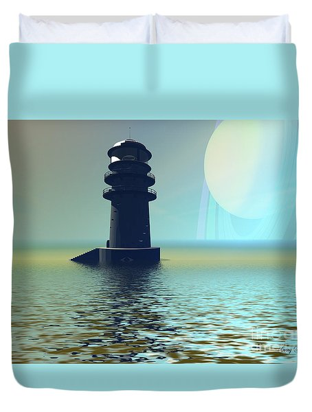Outpost Duvet Cover by Corey Ford