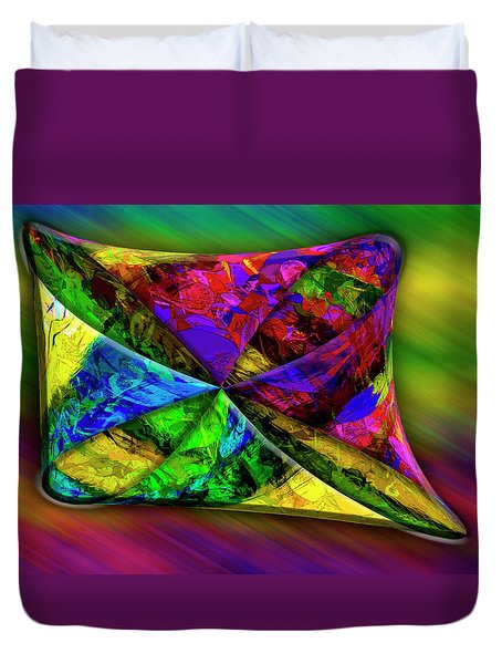 Duvet Cover featuring the photograph Outside In by Paul Wear