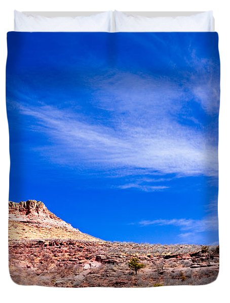 Outside Lyons Colorado Duvet Cover