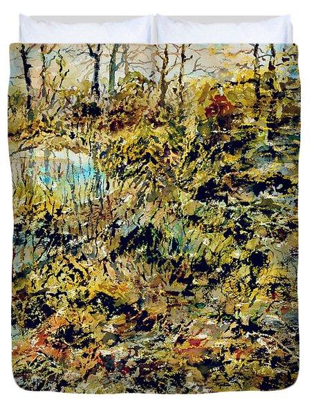 Outside Trodden Paths Duvet Cover
