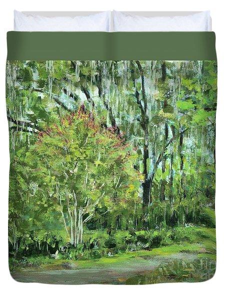 Oven Park Sunday Morning Duvet Cover