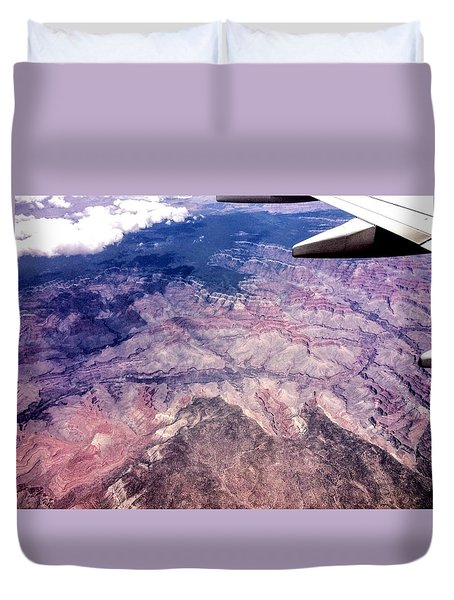 Over The Canyon Duvet Cover