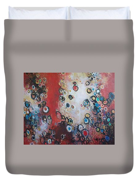 Over The Rainbow Duvet Cover by Laurie Maves ART
