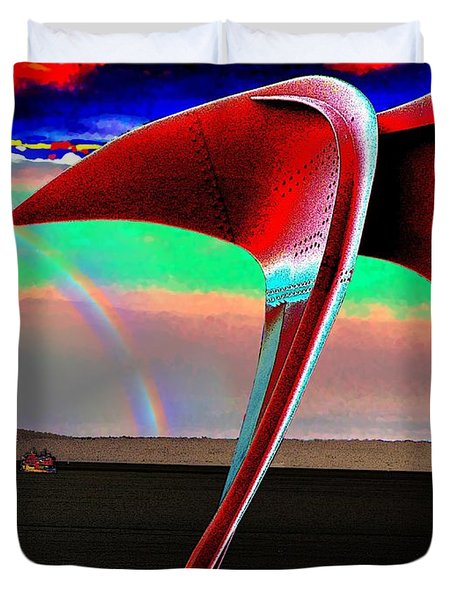 Over The Rainbow Duvet Cover by Tim Allen