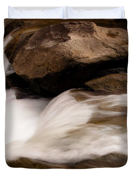 Over The River Duvet Cover by Tamyra Ayles