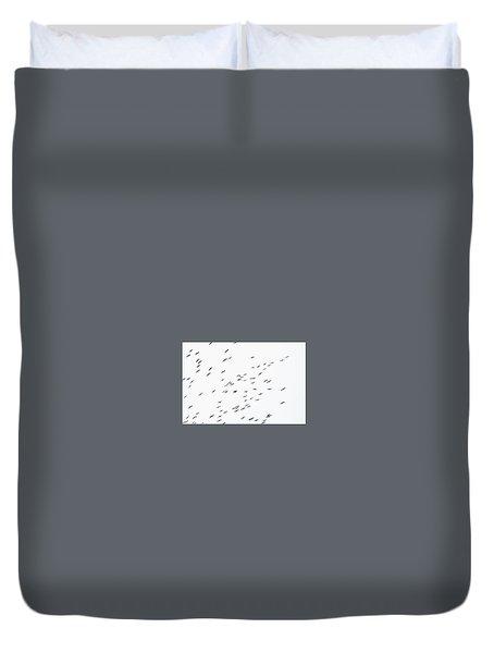 Overcast Duvet Cover