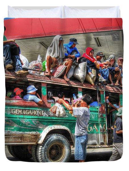 Overload Duvet Cover by Yhun Suarez
