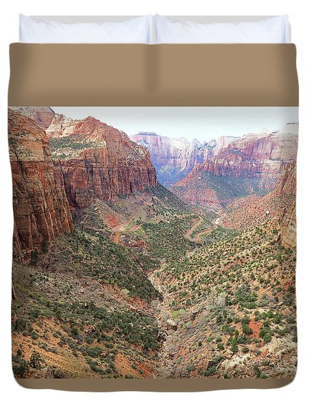 Overlook Canyon Duvet Cover