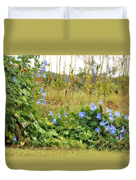 Overtaking Beauty Duvet Cover