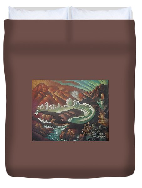 Looking For The Light Duvet Cover
