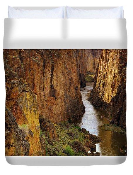 Owhyee River Duvet Cover