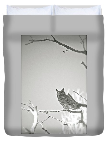 Owl Be Seeing You Duvet Cover