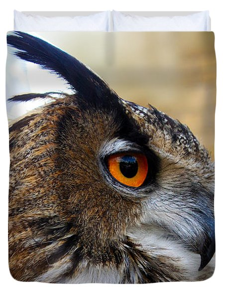 Owl-cry Duvet Cover