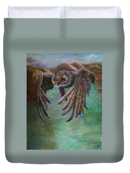 Owl Eagle Duvet Cover