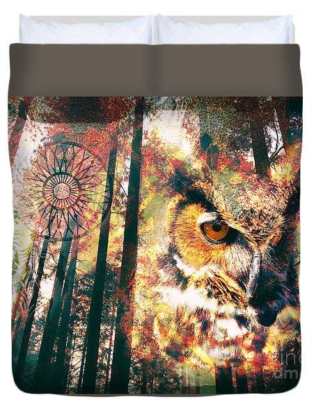 Owl Medicine 2015 Duvet Cover