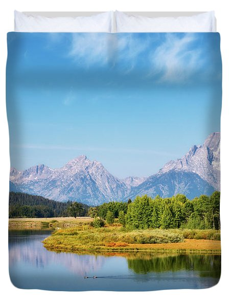 Oxbow Bend Duvet Cover