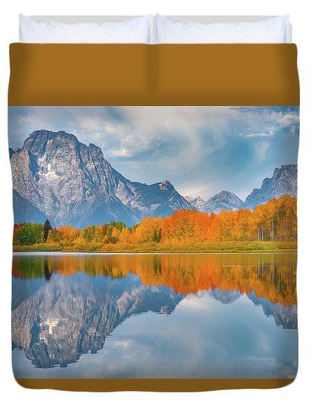 Oxbow's Autumn Duvet Cover