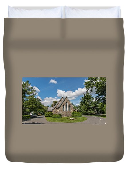 Oxford Church Duvet Cover