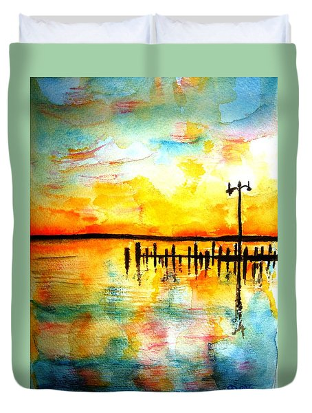 Oxford Sunset Duvet Cover