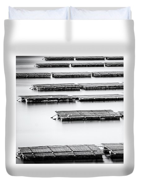 Oyster Farm Duvet Cover
