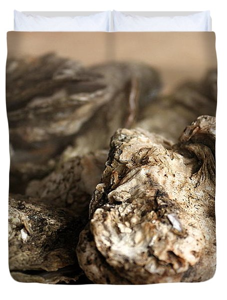 Oyster Roast Duvet Cover
