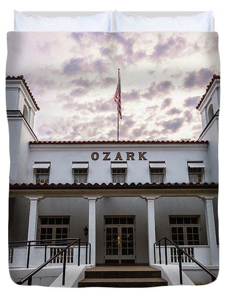 Ozark Bathhouse - Hot Springs Duvet Cover