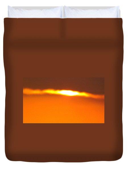 Ozark Sunset 2 Duvet Cover by Don Koester