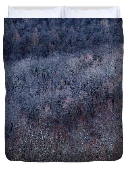 Ozark Trees #3 Duvet Cover