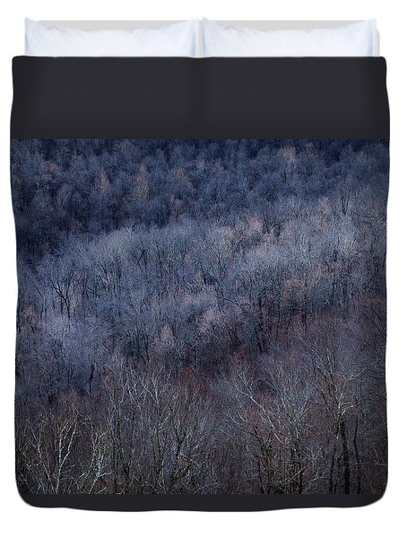 Ozark Trees #3 Duvet Cover