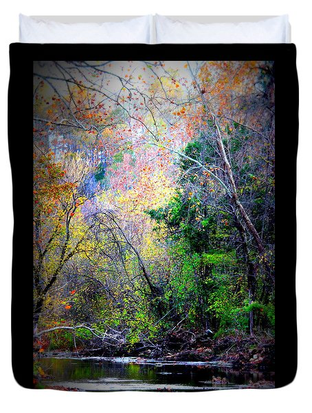 Ozarks Fall Duvet Cover