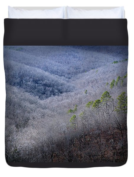 Ozarks Trees #4 Duvet Cover