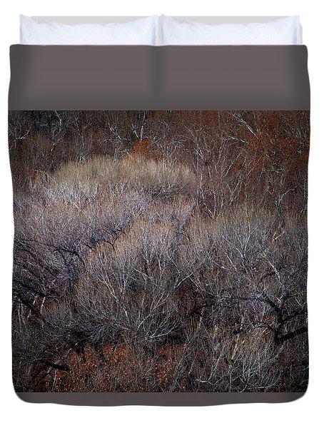 Ozarks Trees #5 Duvet Cover