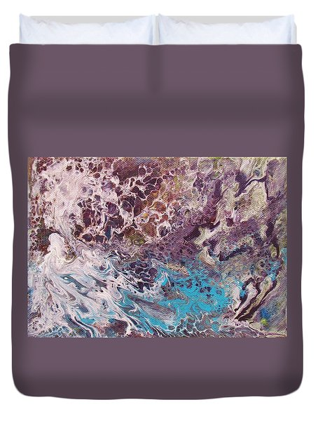 P1- Earth View Duvet Cover