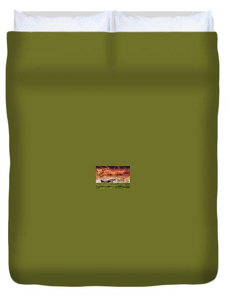 P51 Warbird Duvet Cover
