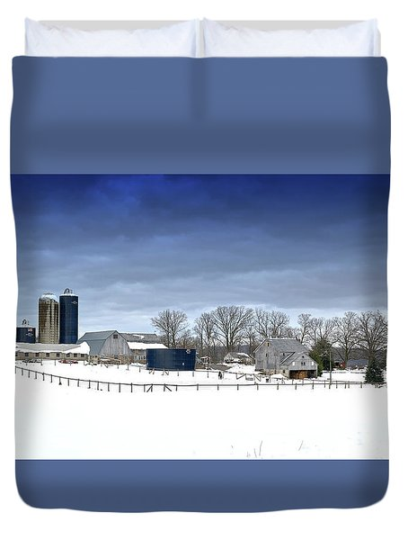 Pa Farm Duvet Cover