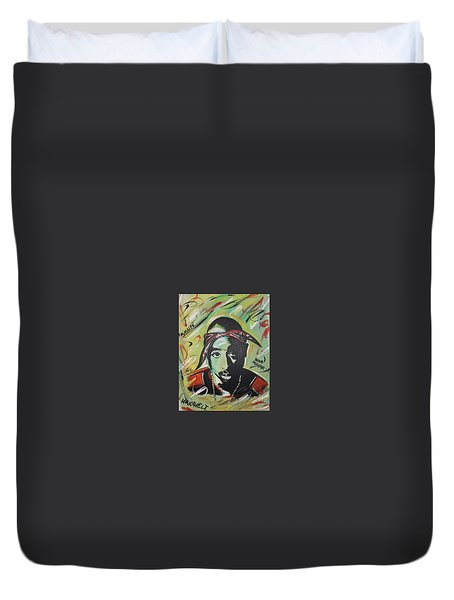 Pac Mentality Duvet Cover