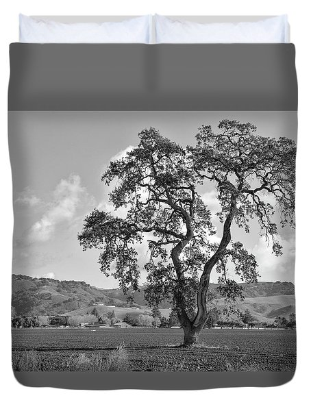 Duvet Cover featuring the photograph Pacheco Pass by Sonny Marcyan
